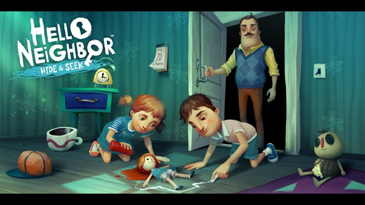 HELLO NEIGHBOR: HIDE AND SEEK, PS4 Gameplay Preview ...
