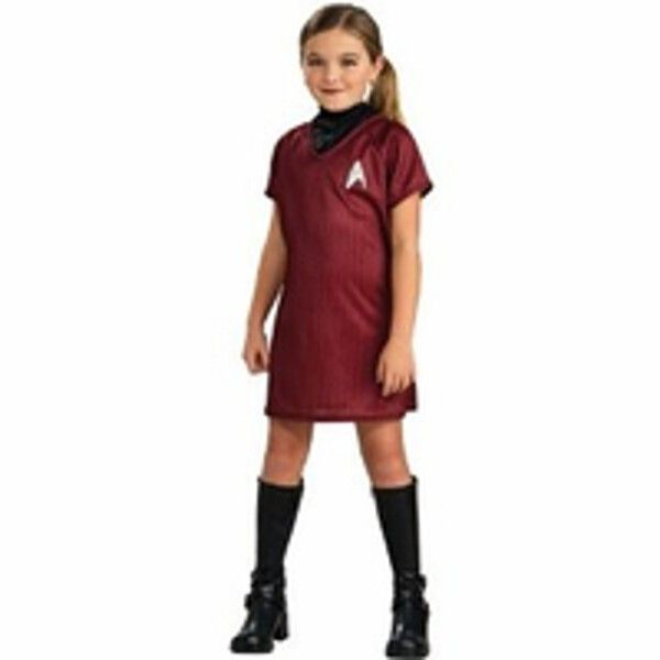 Childs Star Trek Red Dress Costume