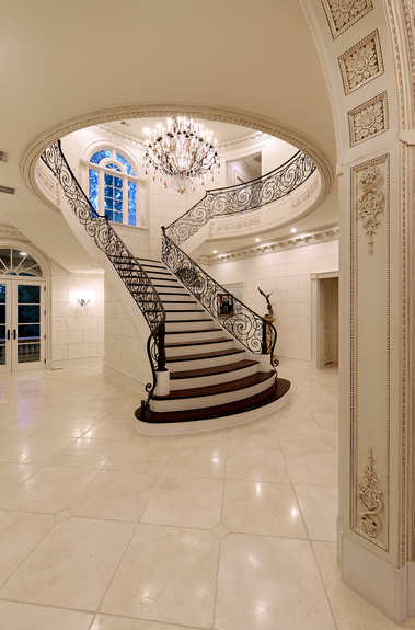 Foyer W T Shaped Staircase Stairways To Heaven Or Just