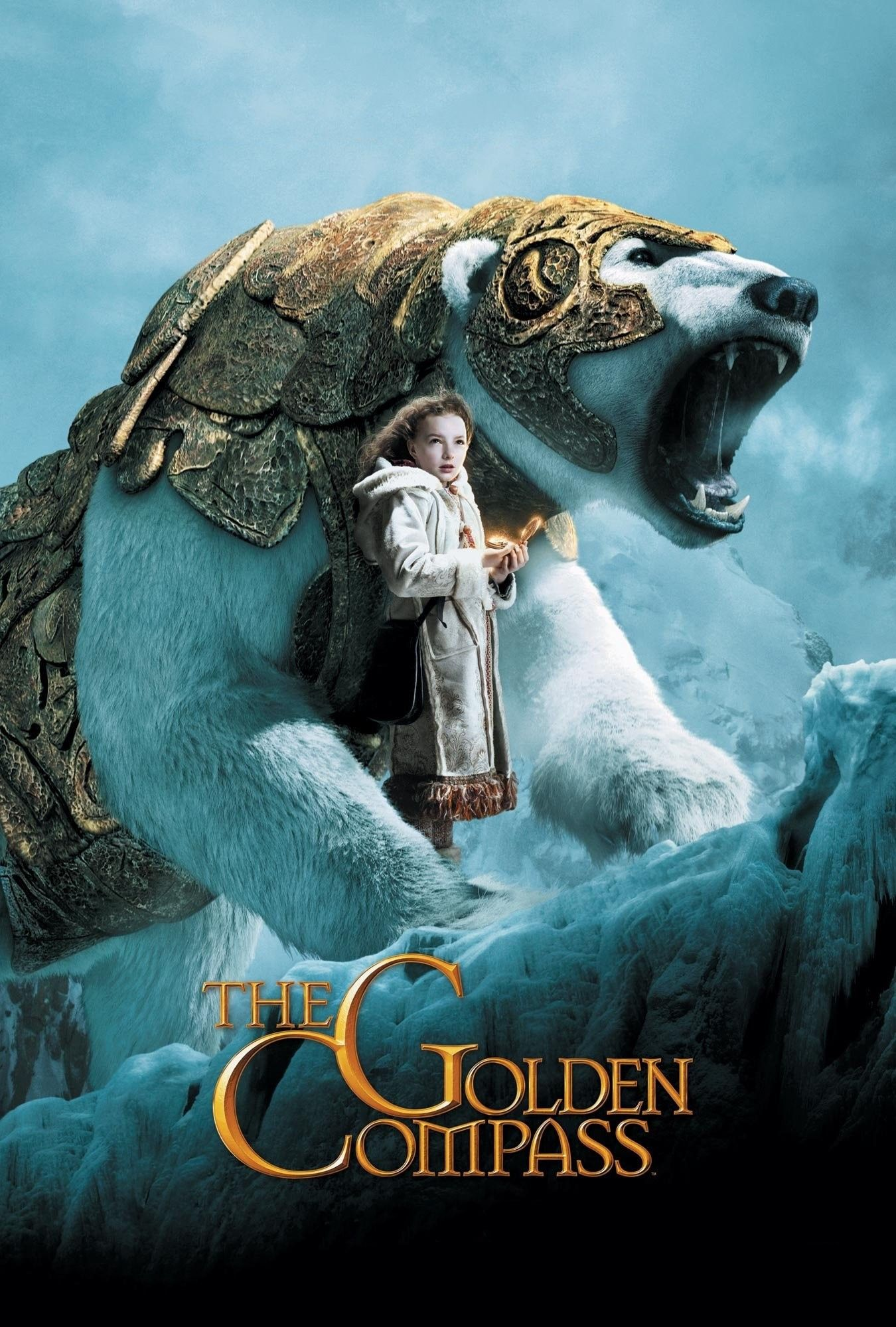 The Golden Compass Lyra Silver Tongue And Iorek Byrneson With