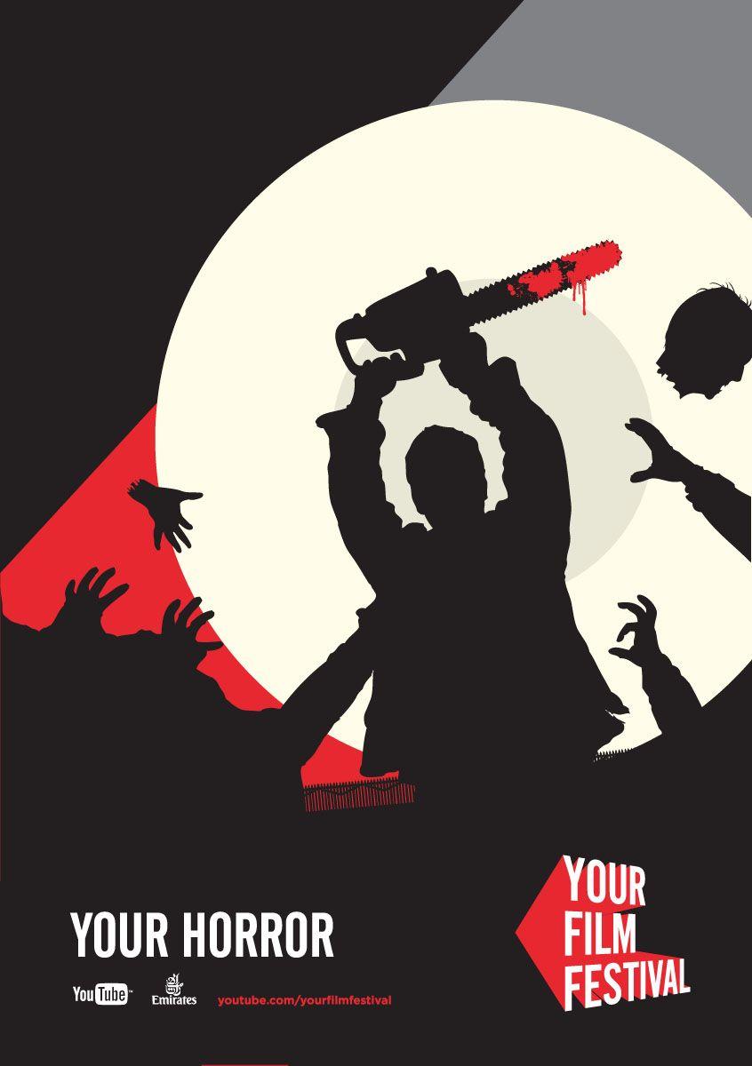 Poster design youtube - Film Festival Posters