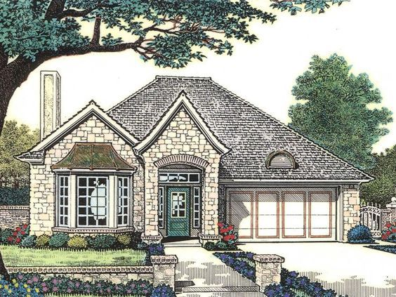 Architectural Designs Cute Small Houses Cottage House Plans Small House Living