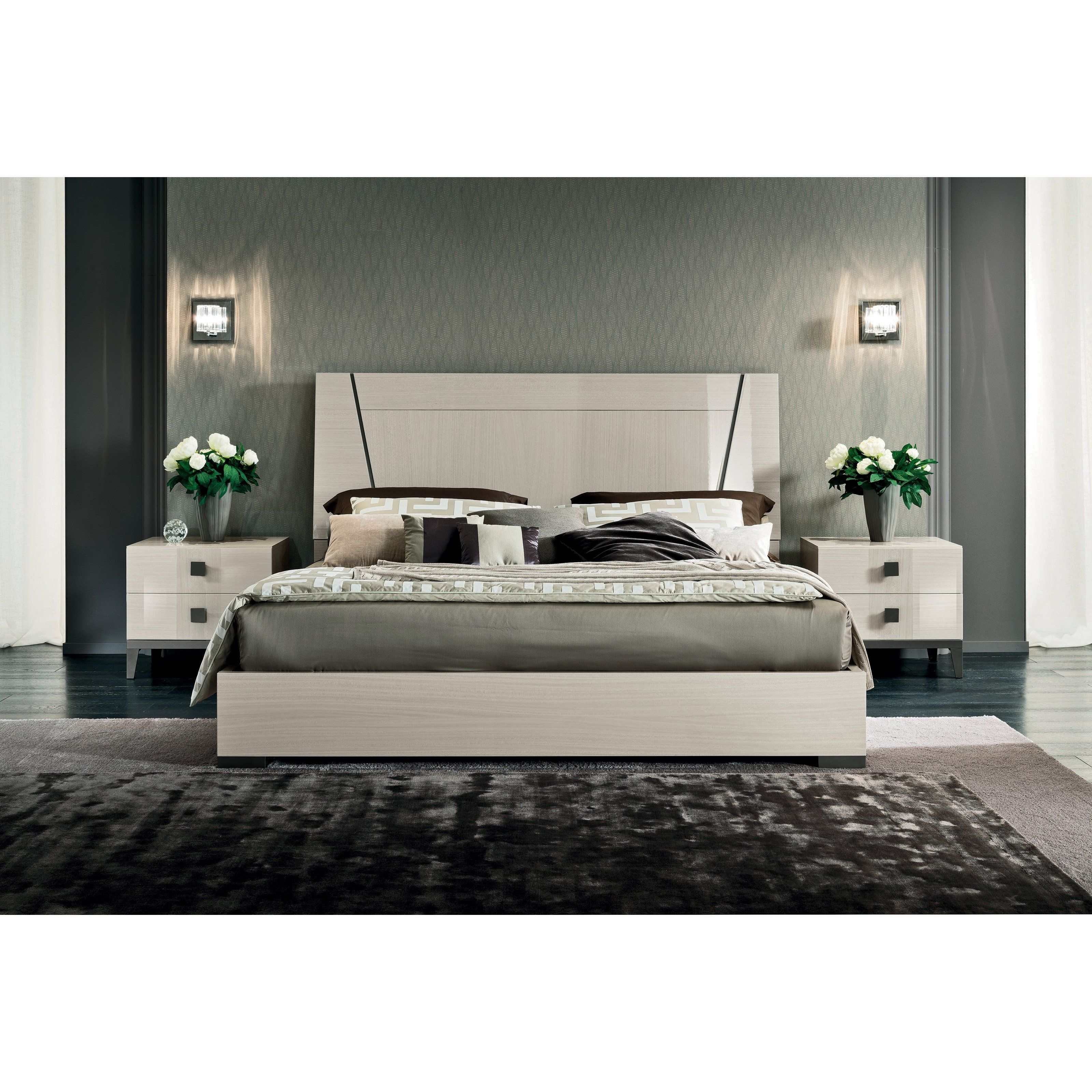 ALF UNO Mont Blanc Platform Bed PJMB0250 (With images