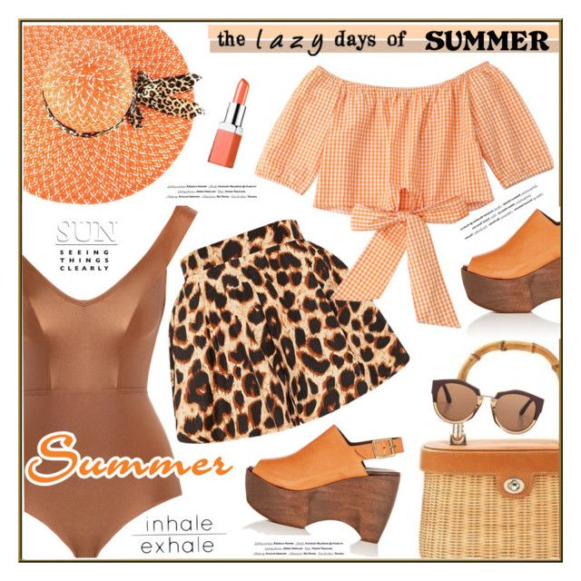 """""""Lazy days of summer"""" by anne-irene on Polyvore featuring Zimmermann, Simon Miller, Marni, Clinique and Vision"""