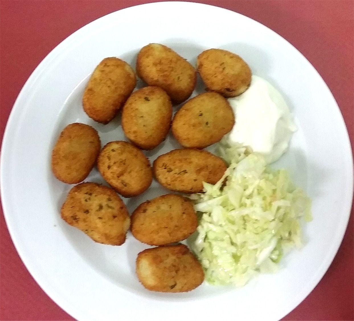 Croquetas de Bacalao adaptado celiacos para comer Cordoba ...