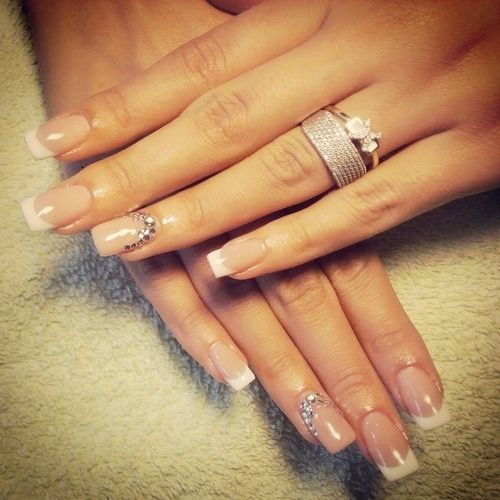French Manucure D Coration Argent E Maquillage Et Ongles Pinterest French Manucure