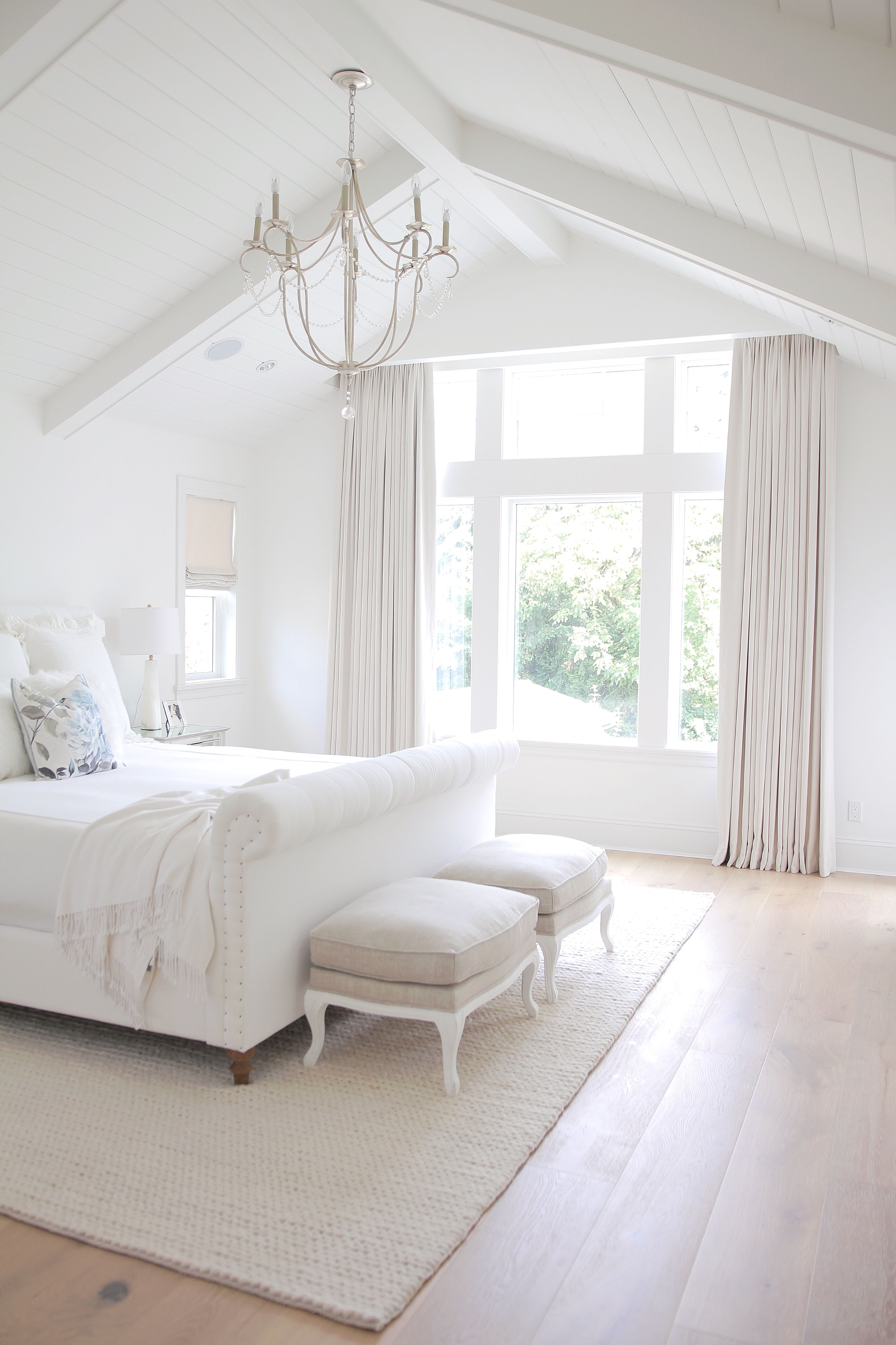 Bright White Home of JS Home Design Bright Bedrooms and Summer