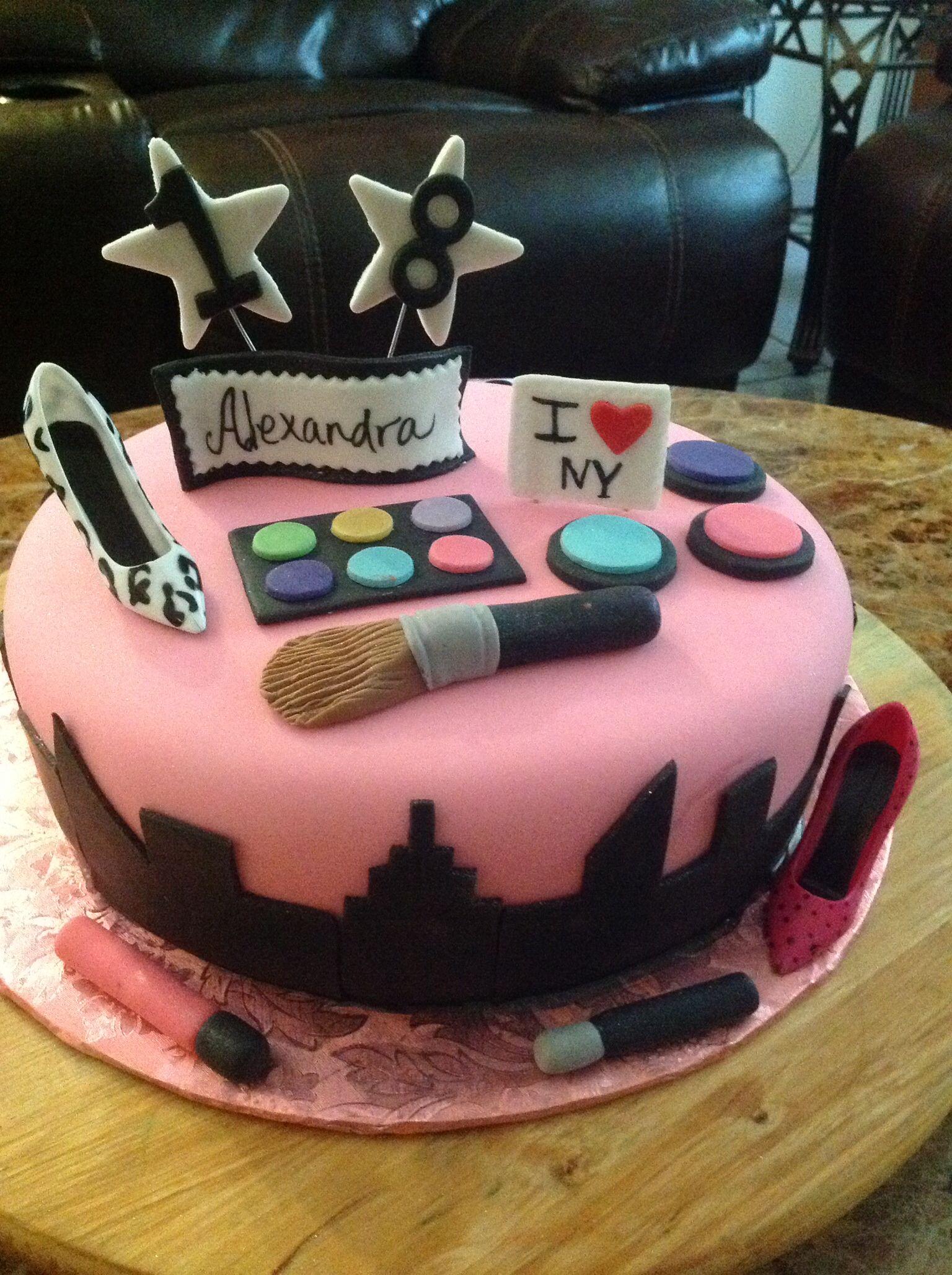 New York cake | Cake, Cake decorating