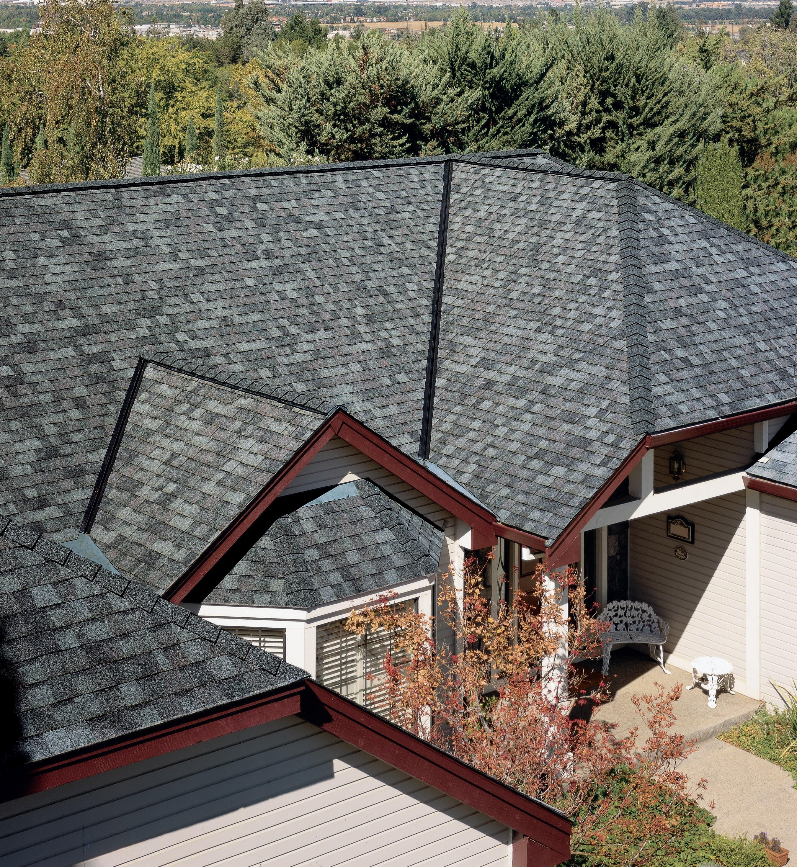 Best Landmark Colonial Slate Roof Shingle Colors Exterior 400 x 300