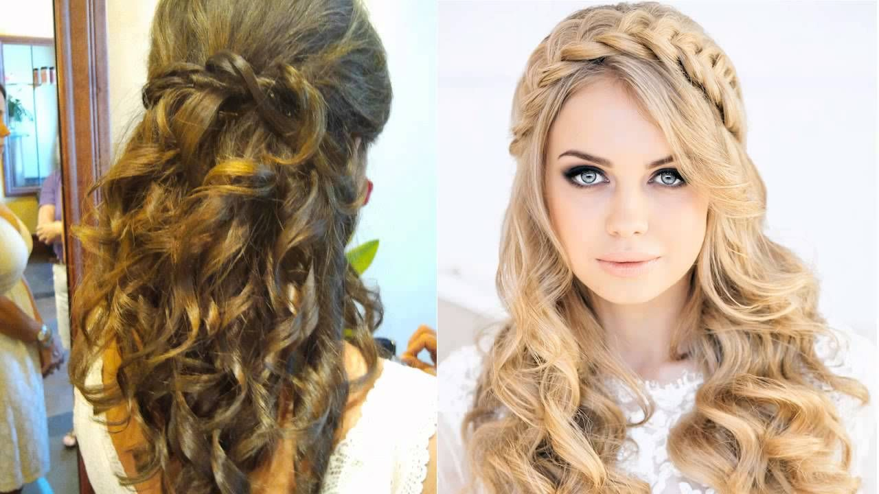 Hairstyles for long hair attending a wedding hairstyles for long