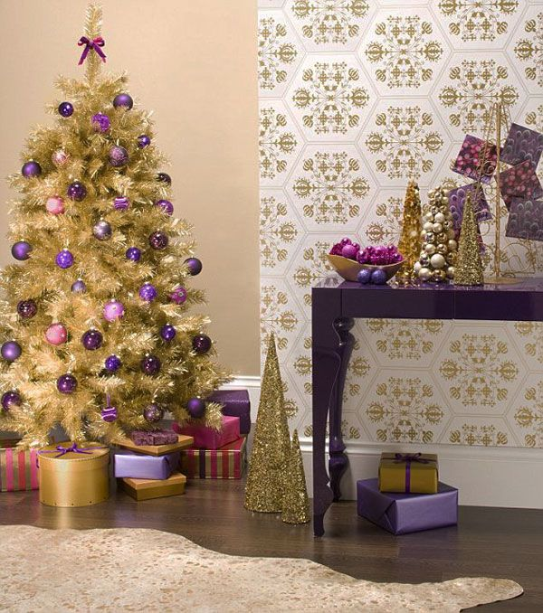 Alternative color combination for Christmas  - 34 Alternative Christmas Colors and Decorating Ideas