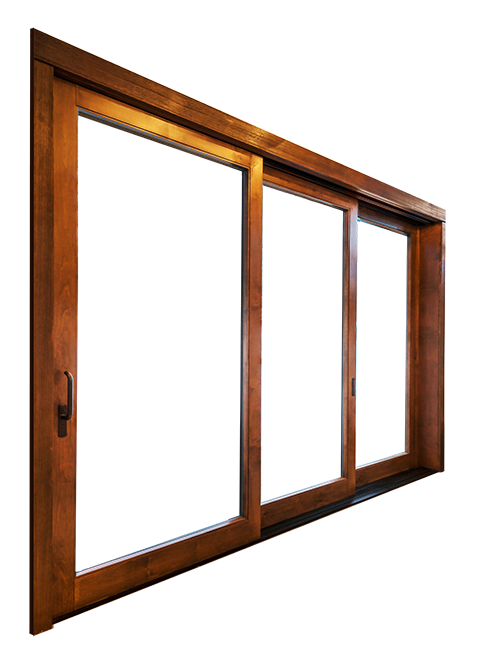 Views And Transform Living Space Multi Slide Panels Glide Completely Into The Wall And Disappear Sierra Pacifi Windows And Doors Residential Doors Clad Wood
