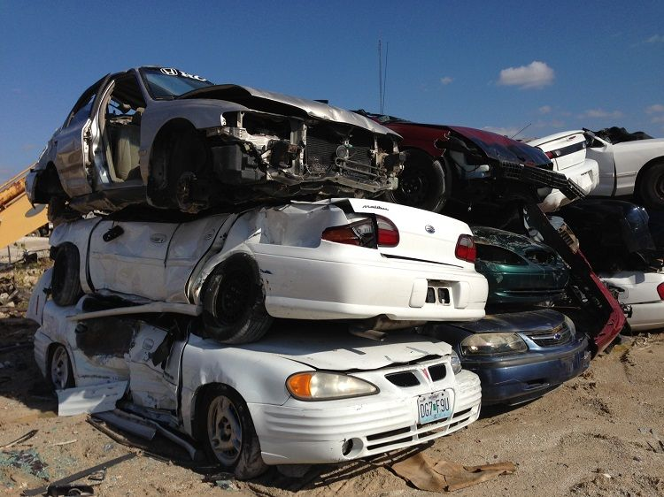 Selling your scrap car to a removal company like