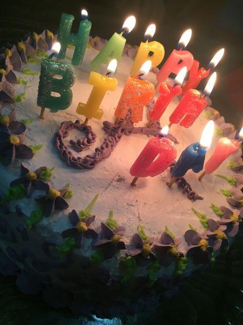 عيد ميلاد سعيد صور تورتة مكتوب عليها عيد ميلاد سعيد وكل سنة وانت طيب Birthday Candles Birthday Happy Birthday