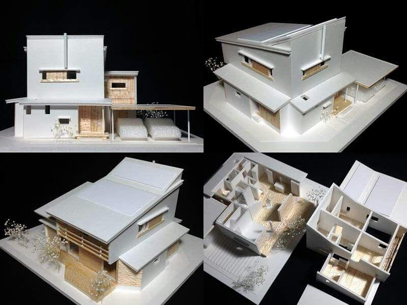 S 1 75住宅模型です ノ Youtube動画 建築模型の作り方