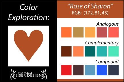 Explore Color: Rose of Sharon