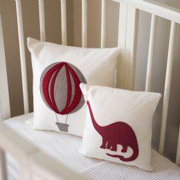 Muusa Paris Balloon & Dinosaur Cushions.