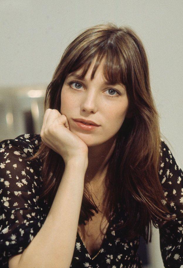 ジェーン バーキンに学ぶ フレンチシックな愛されフェイスの6か条 前髪ありヘア ヘアースタイル ロングヘア