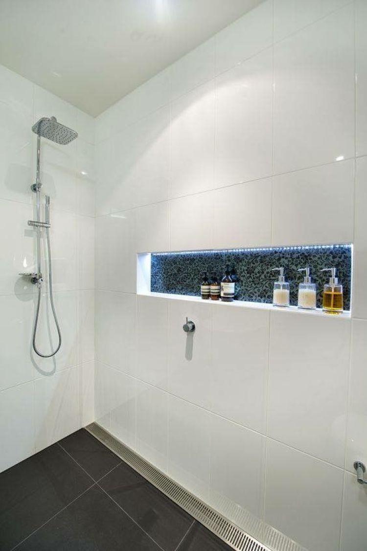 30 Exclusive Wall Shelf Ideas In 2020 Bathroom Design Tile