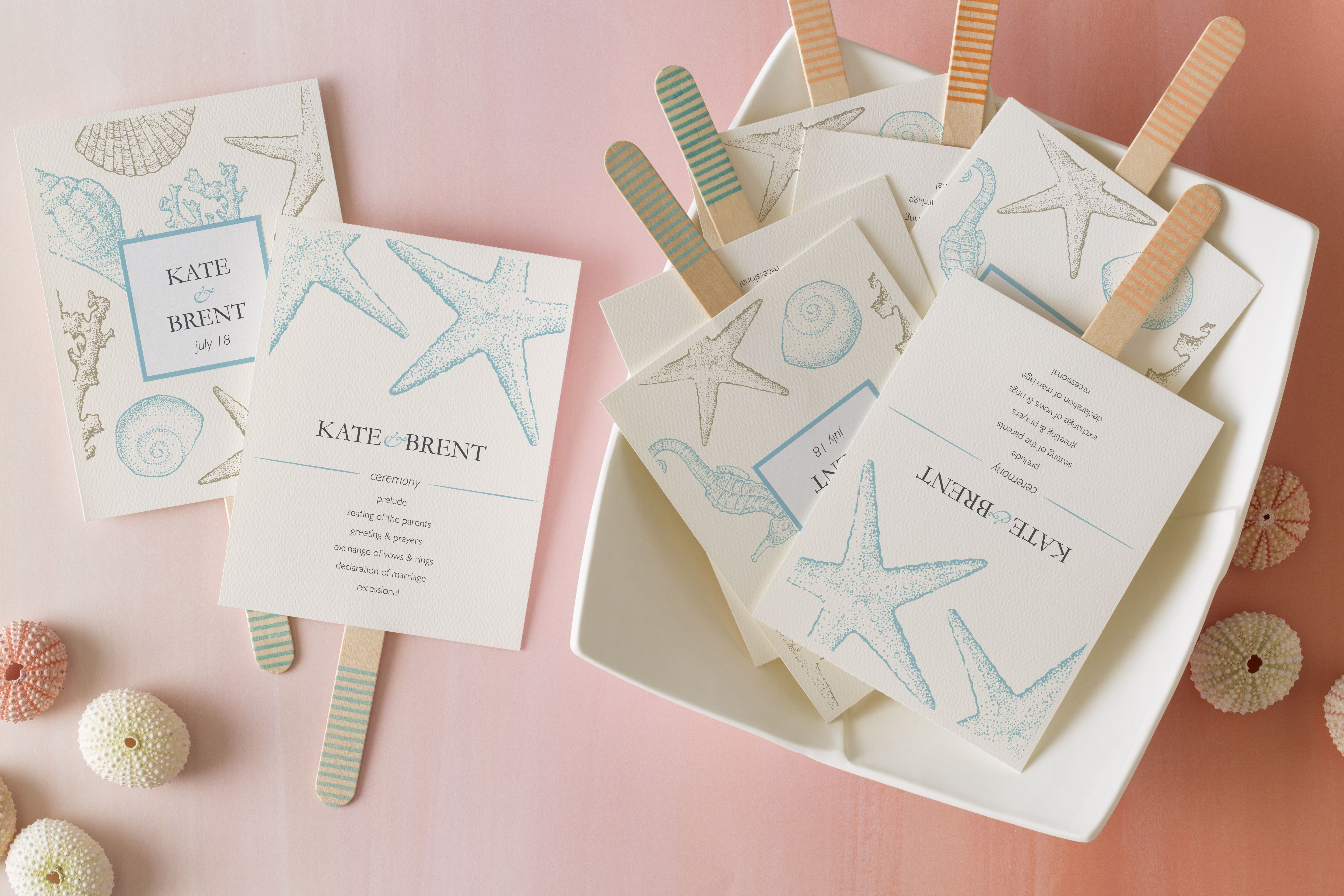 Seasonal Wedding Ideas: DIY fans for summer weddings! (via Avery ...