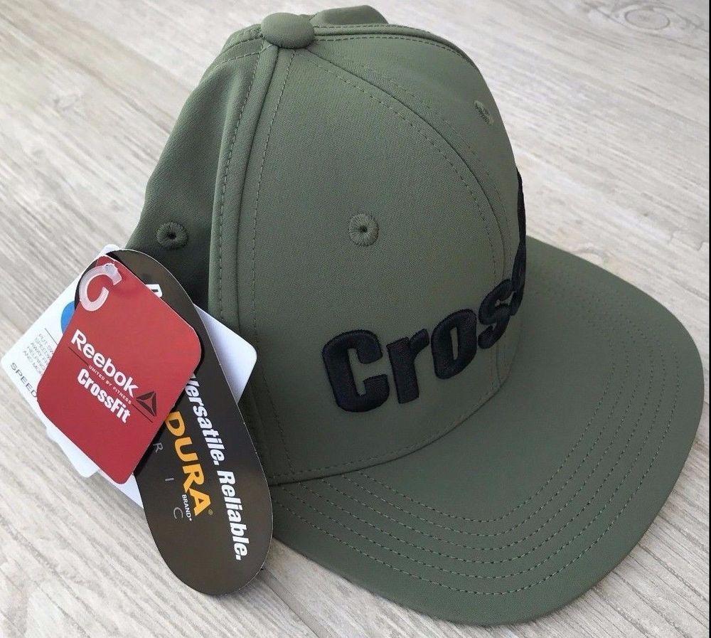 ff3e82da861e0 Men s Women s Reebok CrossFit Sport Baseball Green Flex Snapback Hat Cap M  New  Reebok  BaseballCap