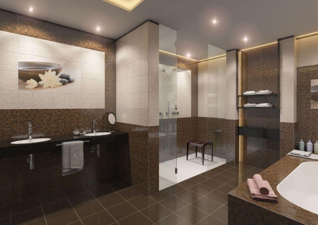 Einfache Badezimmer Wand Reinigung Ideen Für Den Großen Raum Mit