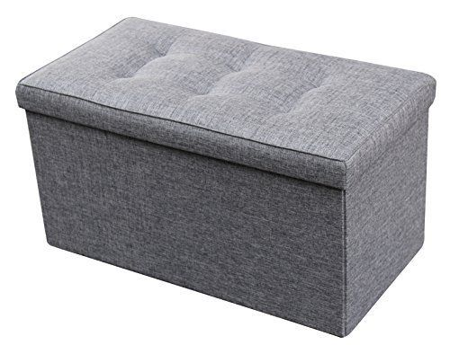 Super Zulera Storage Ottoman Foldable With Square Padded 2 Seat 16 Alphanode Cool Chair Designs And Ideas Alphanodeonline