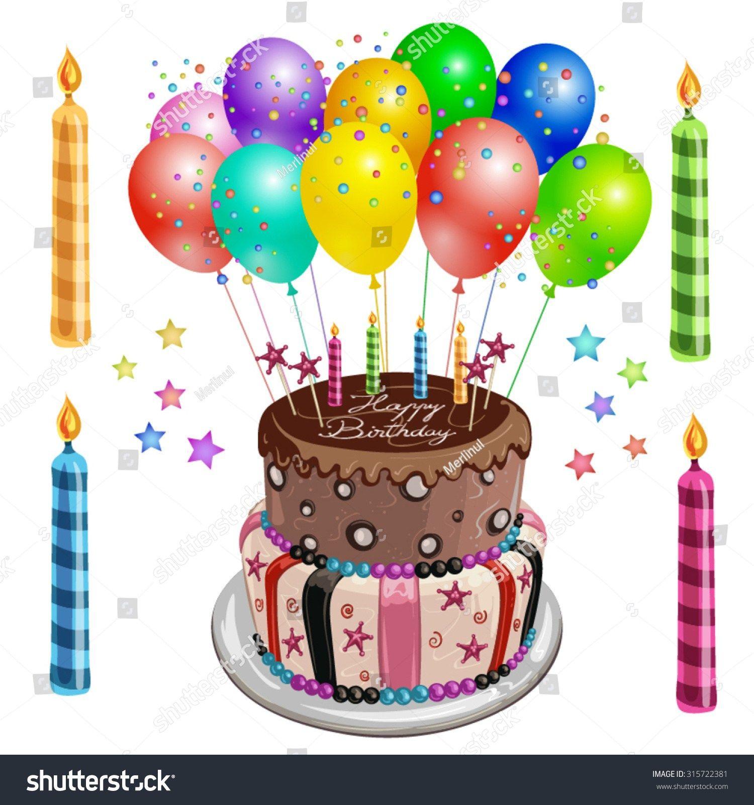 30 Elegant Photo Of Birthday Cake And Balloons Birijus Com Birthday Cake With Photo Balloon Birthday Cakes Birthday Cake