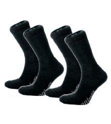 Wool Sock Extra Lämmin ja paksu sukka, 70% merinovillaa. Froteeneulos lämmittää maksimaalisesti. 2-pack. Musta harmaalla logolla. 18€ 70% Merinovillaa, 16% Nylonia 9% Akryyliä, 5% Lycraa.