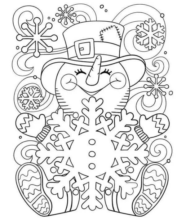 Pin By Linda On Novyj God Snowman Coloring Pages Christmas Coloring Sheets Free Coloring Pages