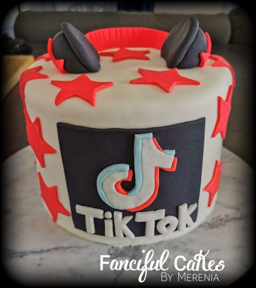 Tik Tok Cake Cake 11th Birthday Birthday Party