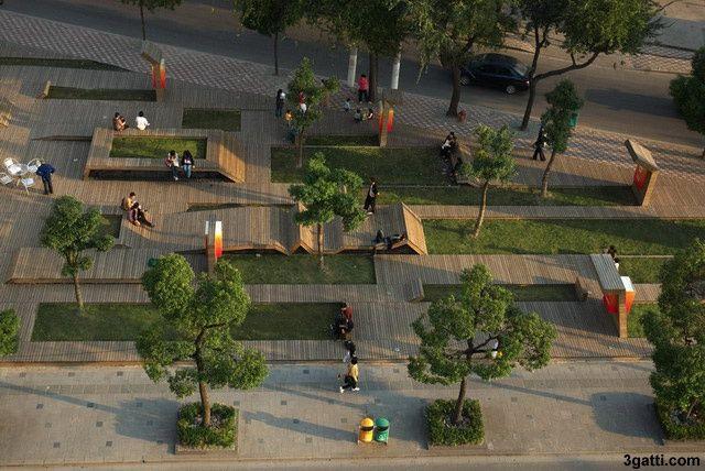 Dise o de plazas y espacios publicos buscar con google for Mobiliario espacio publico