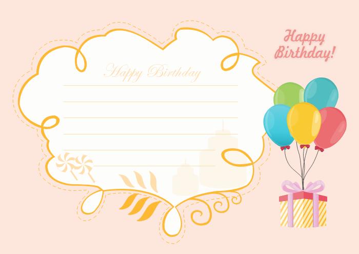 Birthday Card Template For Him Birthday Card Template Free Birthday Card Template Editable Birthday Cards