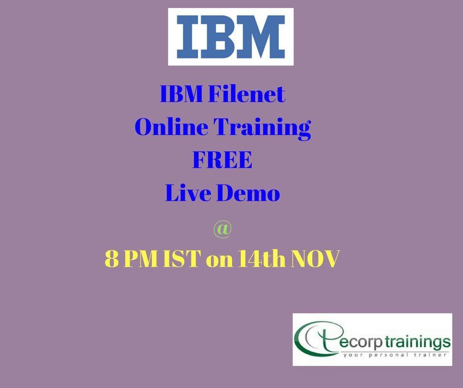 Best Institute For Learn Ibm Filenet Admin Online Training In