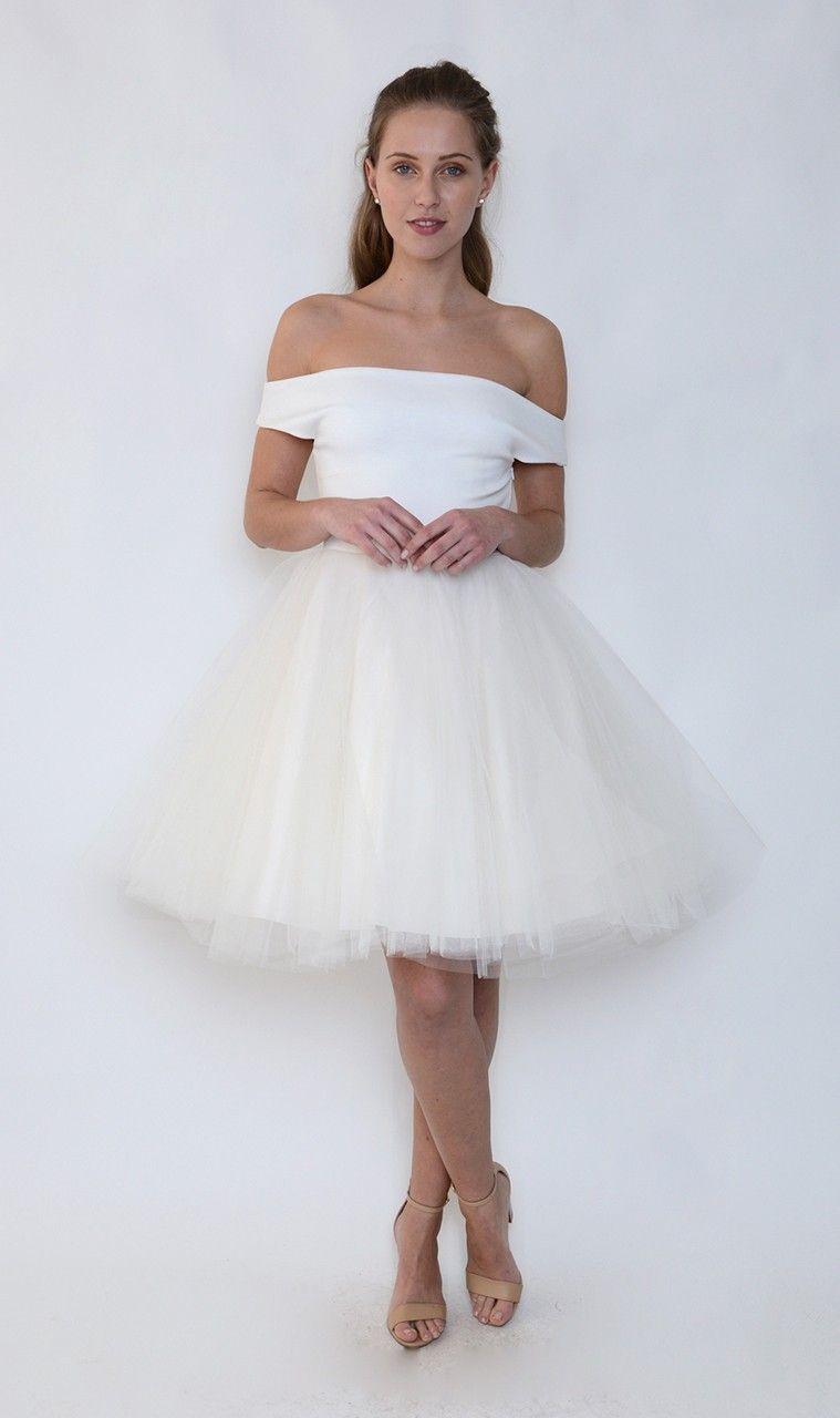Buy j j Studio Margot Cream Tutu Dress - Jones and Jones Fashion ...