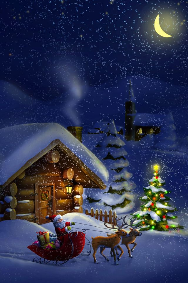 north pole free travel wallpapers - Santa And The North Pole