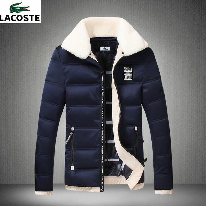 23dfe529fd Doudoune Lacoste, Veste Lacoste, Doudoune Chaude, Mode Urbaine Masculine,  Bleu Foncé,