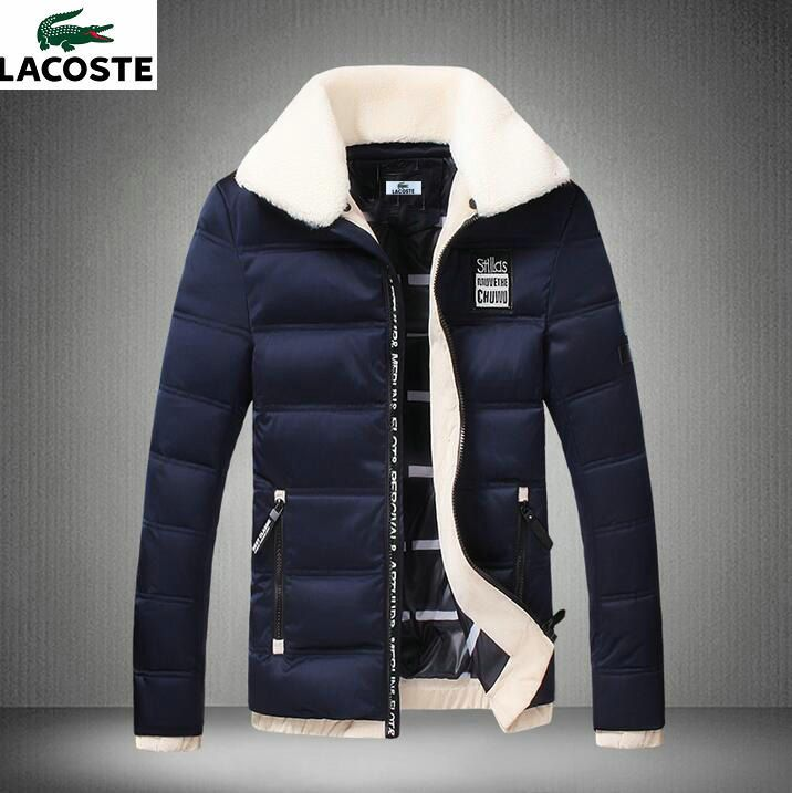 Veste Lacoste, Doudoune Chaude, Mode Urbaine Masculine, Fourrure 816ba35e145