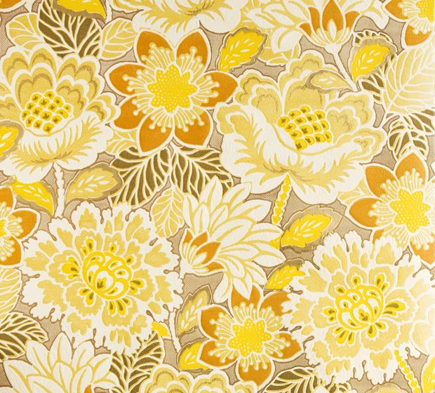 Vintage wallpaper from danish online store Retro Villa.