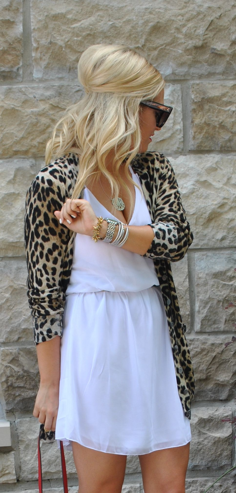 Would love this if the dress was off white! | style | Pinterest ...
