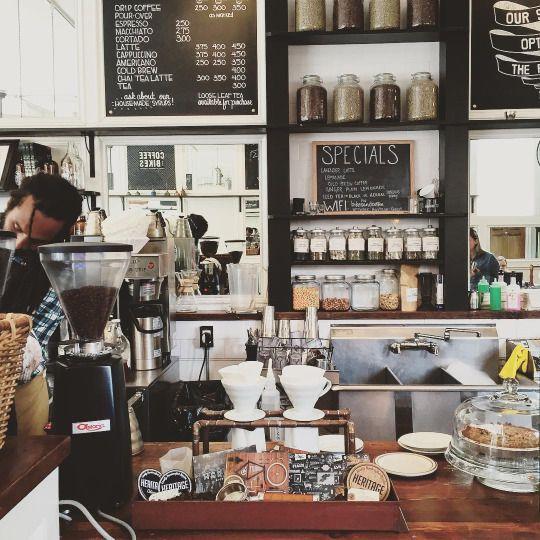 Marrows Coffee Shop Design Coffee Shop Shelf Organization