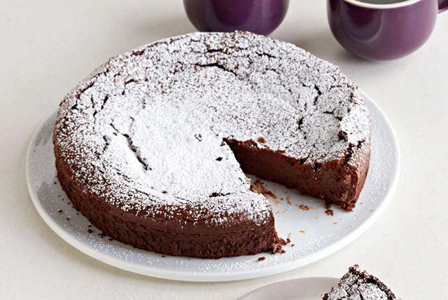 Pastel de chocolate con especias otoñales Receta