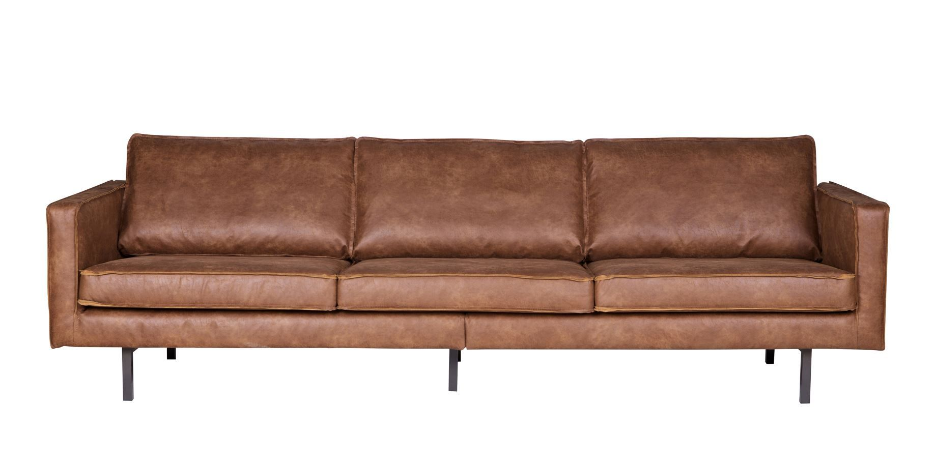 Modernes Ledersofa ledersofa rodeo 3 sitzer cognac rodeo lofts and living rooms