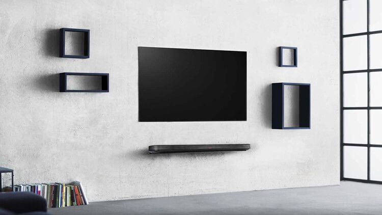 The 77inch LG OLED Wallpaper TV costs as much as a brand