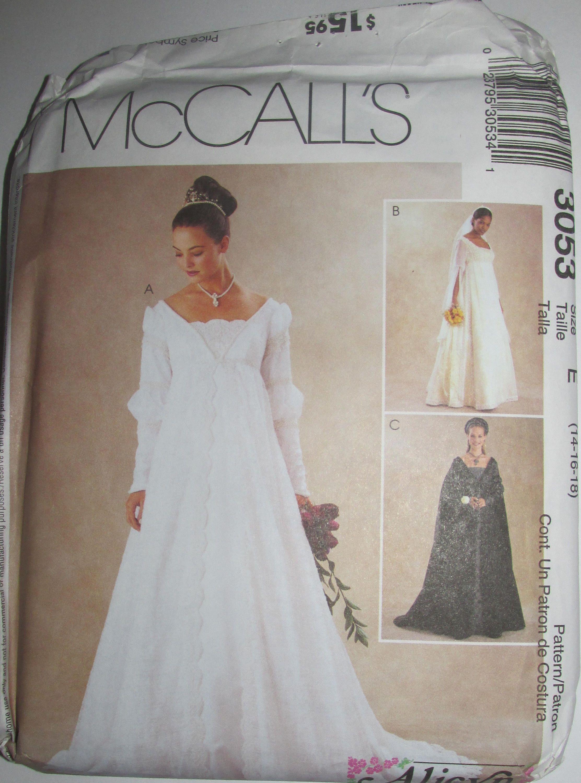 Mccalls renaissance wedding gown pattern queen costume