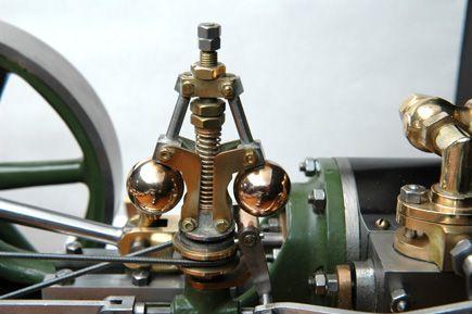 Stuart No 9 Steam Engine - Governor detail