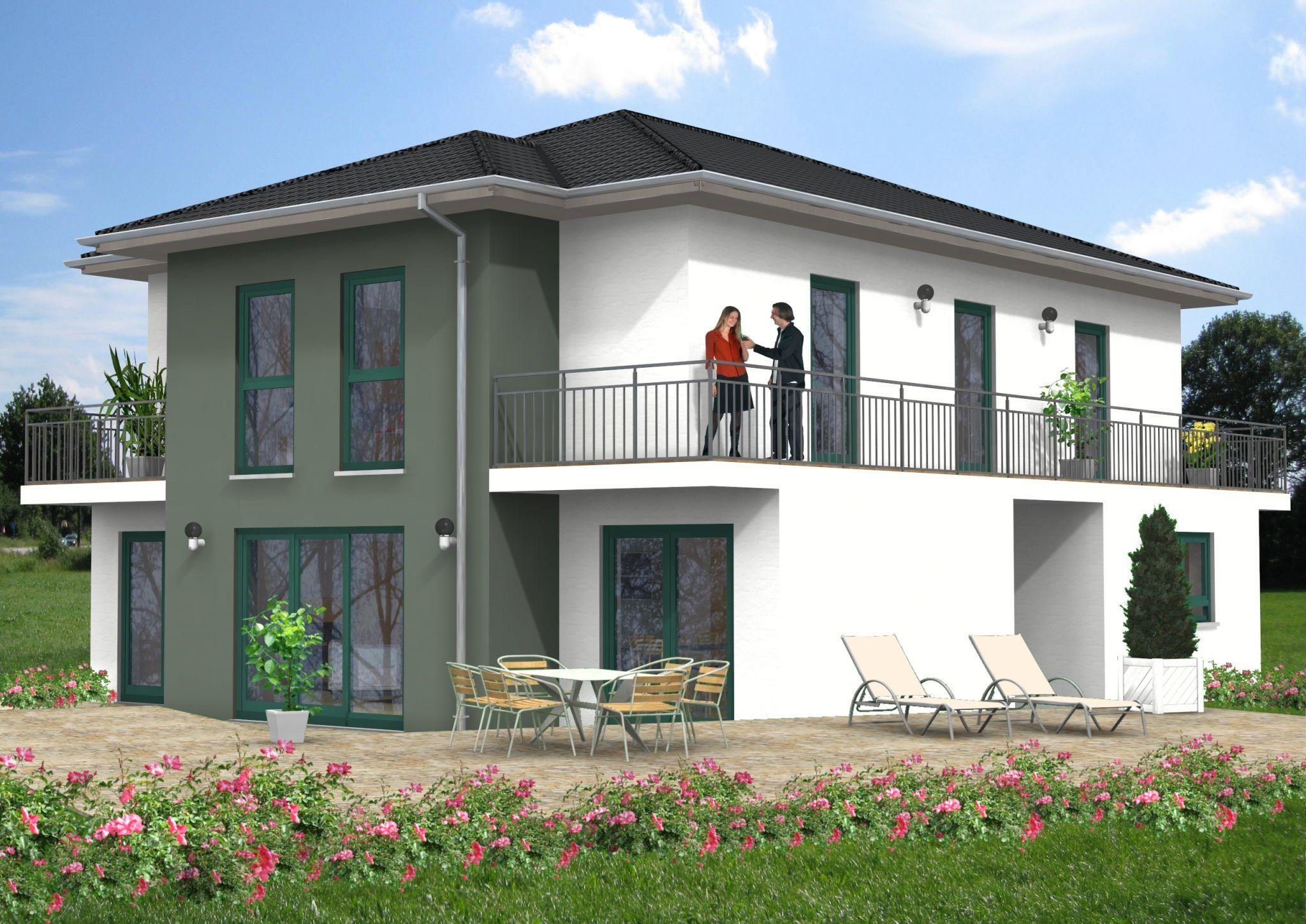 Unsere Haus-Idee mit ca. 221 m² Wohnfläche. Ein Walmdachhaus zum ...