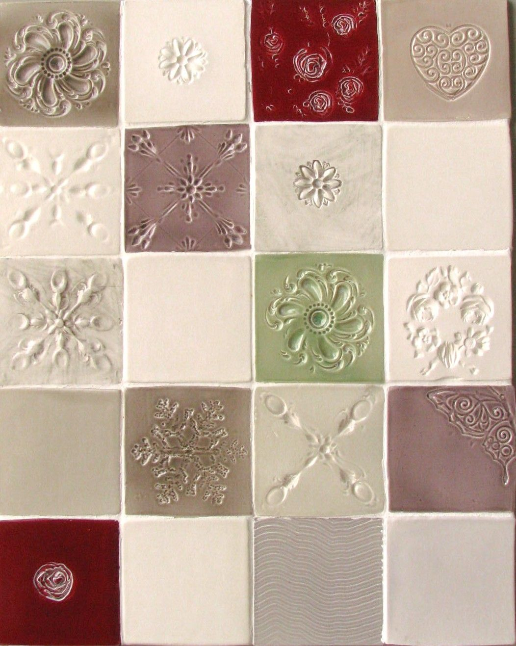 Carreaux Faience Emaillee 10x10 En Relief Decor Holiday Decor Home Decor