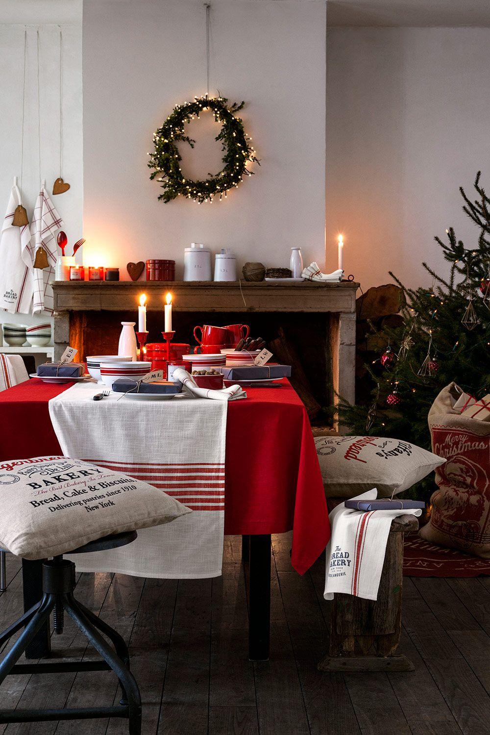 Gemütliches, weihnachtliches Esszimmer #Esszimmer #Weihnachten ...
