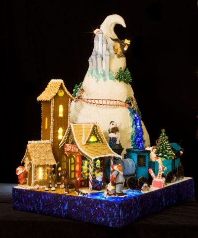 The 23rd Annual Gingerbread Village Gingerbread Village Gingerbread House Kits Gingerbread House